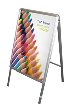A Frame outdoor  stand - poster company